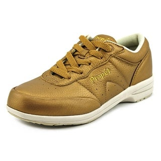 Propet Washable Walker Women W Round Toe Synthetic Bronze Sneakers