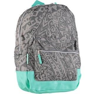 Emma & Chloe Fashion Tribal Printed Contrast Backpack