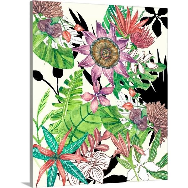 """Botanic Abundance I"" Canvas Wall Art"