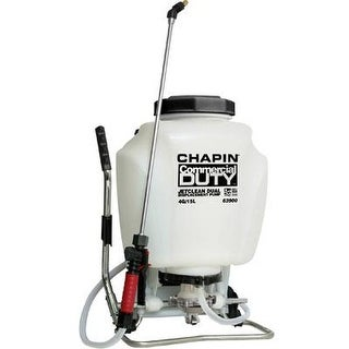Chapin 63900 4-Gallon Self-Cleaning Backpack Sprayer For Fertilizer, Herbicides And Pesticides