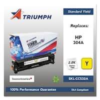 Triumph Remanufactured 304A Toner Cartridge - Yellow Toner Catridge