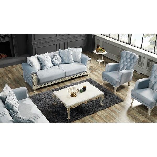 SavaHome Carmano Living Room Set (3-3-1-1). Opens flyout.