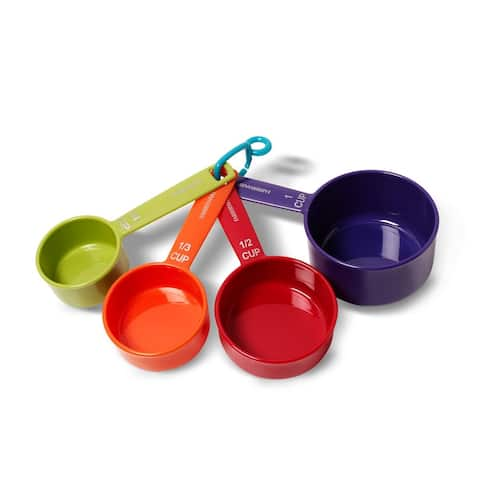 Farberware Color Measuring Cups, Mixed Colors, Set of 4 - Multi-Color