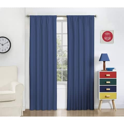 Eclipse My Scene Thermaback Blackout Macklin Curtain Panel