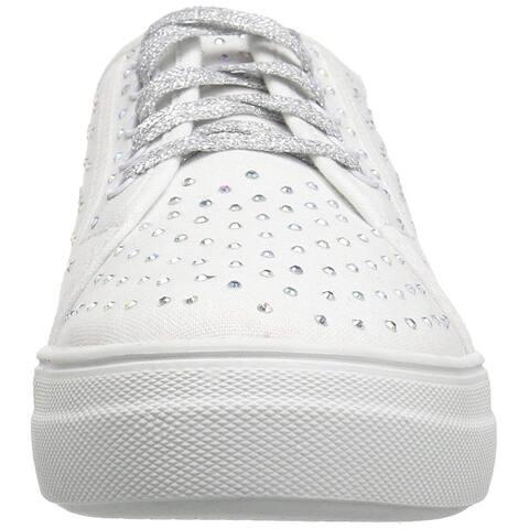Kids Steve Madden Girls Jdiamond Low Top Lace Up Fashion Sneaker