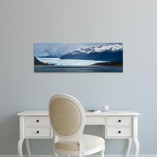 Easy Art Prints Panoramic Images's 'Patagonian Ice Field, Los Glaciares National Park, Patagonia, Argentina' Canvas Art