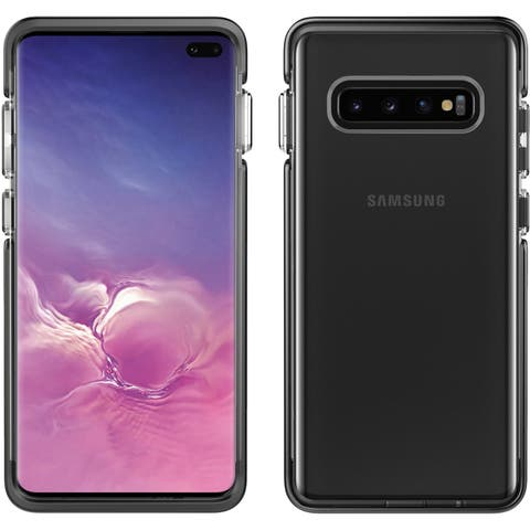 Pelican Ambassador For Samsung Galaxy S10 Plus - Clear Black and Silver Protective Case