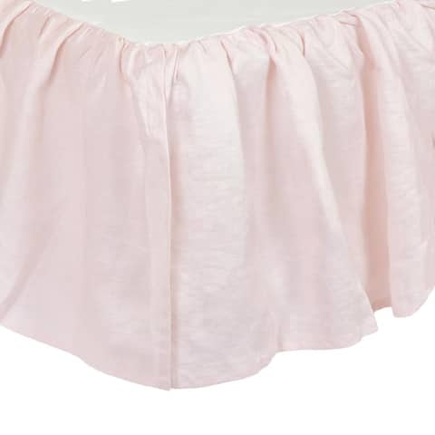Just Born Baby and Infant Keepsake Classic Vintage Crib Skirt - Pink - One Size