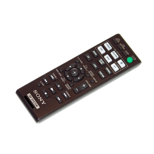 OEM NEW Sony Remote Control Originally Shipped With MHCGPX555, MHC-GPX555