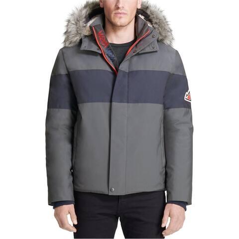 Vry Wrm&Trade Mens Polar Oxford Snorkel Coat