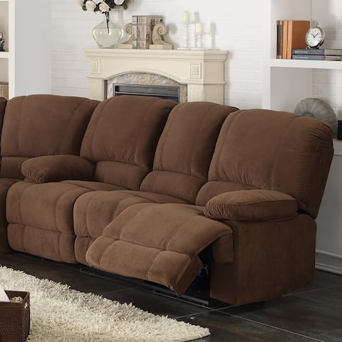 Kevin Upholstered Reclining Living Room Sofa