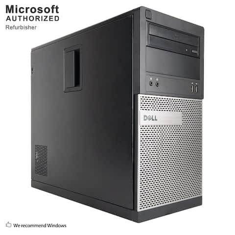 Dell OptiPlex 390 TW Intel Core i3 2120 3.30GHz, 8GB RAM, 2TB HDD, DVD, WIFI, BT 4.0, VGA, HDMI WIN10P64(EN/ES)-Refurbished
