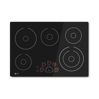 "LG LCE3010SB 30"" Radiant Cooktop with Smoothtouch Controls"
