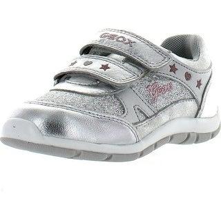 Geox Girls B Shaax Girl Fashion Metallic Sneakers