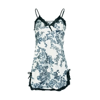 Link to Unique Bargains Women Relaxed Fit Lace Chemises - Floral Similar Items in Intimates