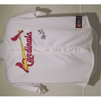 6fb8eb6c2ef Shop Ozzie Smith Autographed St Louis Cardinals Majestic Jersey - Free  Shipping Today - Overstock - 13481498