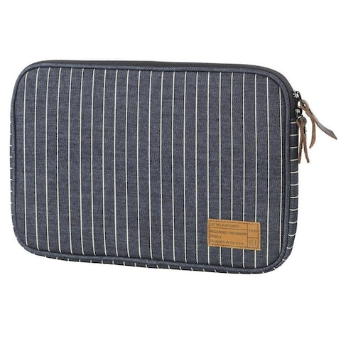 HEX Sleeve with Rear Pocket for Microsoft Surface 3, Denim Stripe