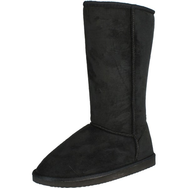 Top Moda Women's Widow-1 Faux Suede Boots
