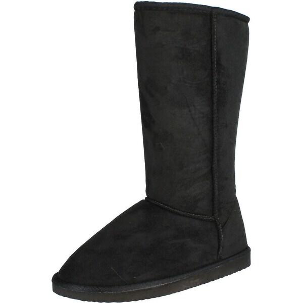 Women's Widow-1 Faux Suede Boots