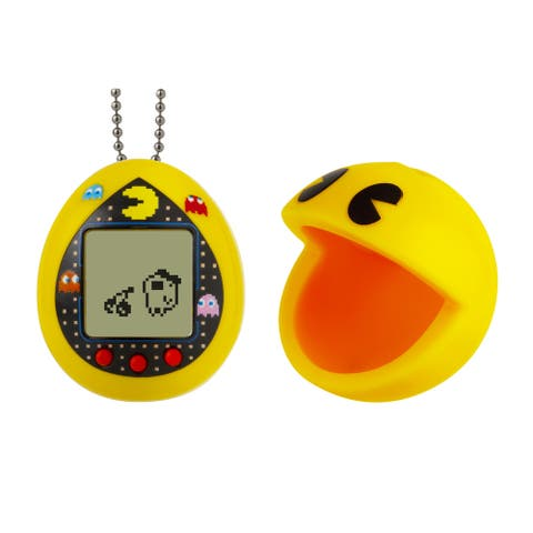 Pacman Tamagotchi Deluxe With Case Yellow Maze