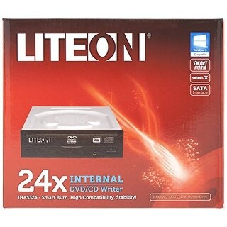 Lite-On - 24X Dvd-Writer,Sata,Blk,Retail