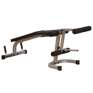 Body-Solid Powerline Leg Extenison Leg Curl - metal