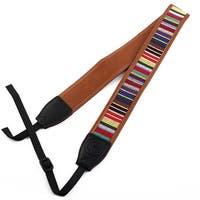 SHETU Authorized Classical Style Camera Shoulder Neck Strap Multicolor for DSLR