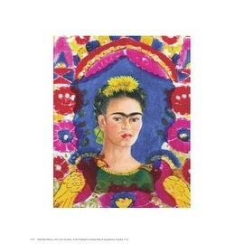 ''The Frame'' by Frida Kahlo Latino Art Print (14 x 11 in.)