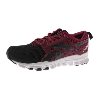 Reebok Womens Hexaffect Sport Mesh Colorblock Running Shoes