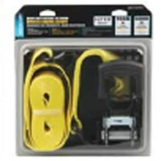 "Mintcraft FH64071 Heavy Duty Ratchet Tiedown 1-1/2""x15', Yellow"