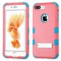 Insten Hard PC/ Silicone Dual Layer Hybrid Rubberized Matte Case Cover with Stand For Apple iPhone 7 Plus - Thumbnail 8