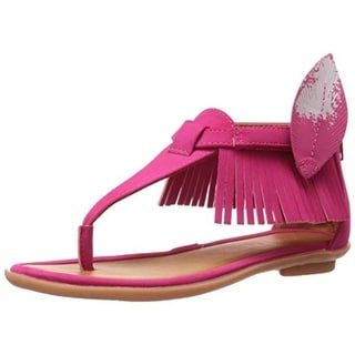 Bumbums & Baubles Girls Sienna Customizable T-Strap Sandals - 3