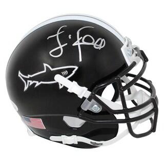 Jamie Foxx Any Given Sunday Sharks Mini Football Helmet