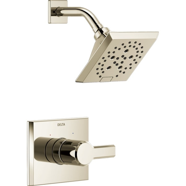 Delta T14299 Pivotal Monitor 14 Series Single Function Pressure Balanced Shower Only with H2Okinetic Shower Head