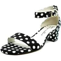 Bettye Muller Buzz Women BlkWhPlk Sandals