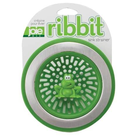 Joie Ribbit Frog Themed Kitchen Sink Drain Strainer Basket - Green