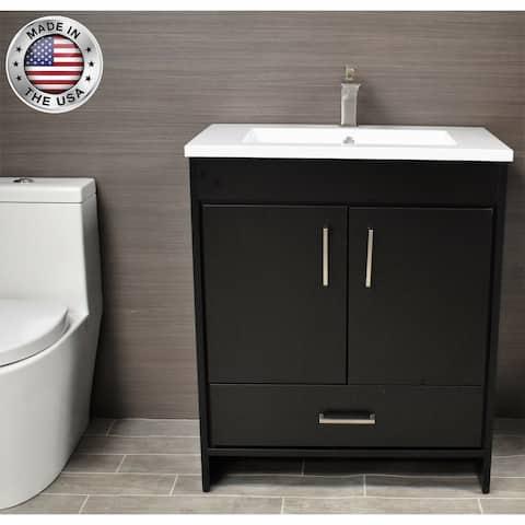 Volpa USA Rio 30-Inch Freestanding Bath Vanity Set