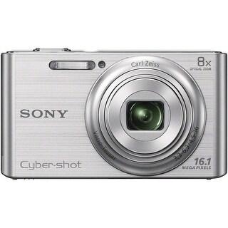Sony Cyber-shot DSC-W730 Digital Camera (Silver)