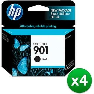 HP 901 Black Original Ink Cartridge (4-Pack) HP 901 Black Ink Cartridge - Black - Inkjet - 200 Page