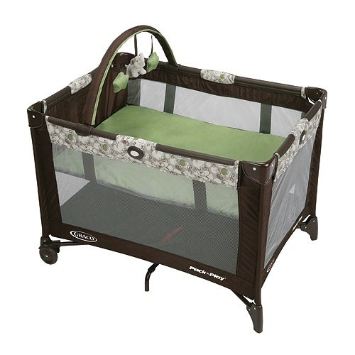 Graco Base Folding Feet - Zuba Playard with Automatic Folding Feet