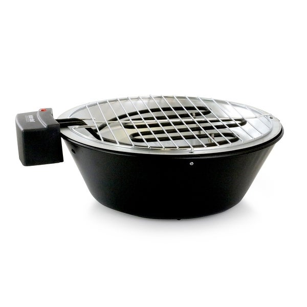 Better Chef Indoor Outdoor 14 in Tabletop Electric Barbecue Grill. Opens flyout.
