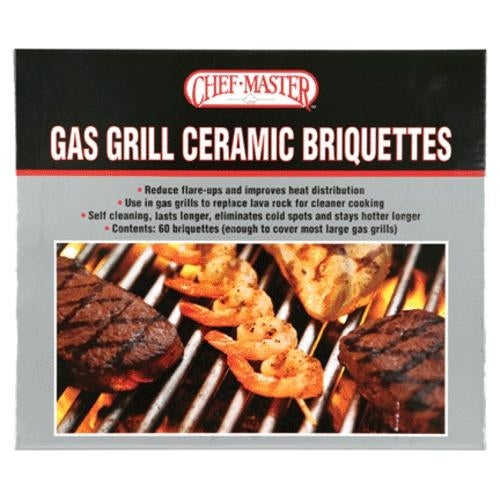 Mr. BAR-B-Q 05004CM Gas Grill Ceramic Briquettes