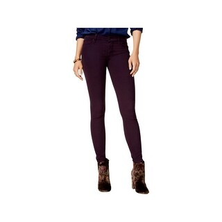 Hudson Womens Nico Ankle Jeans Colored Skinny