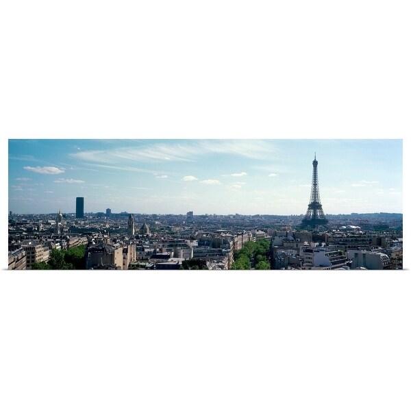 """Eiffel Tower in Paris"" Poster Print"