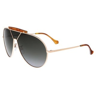 Balenciaga BA0031 28B Gold Aviator Sunglasses