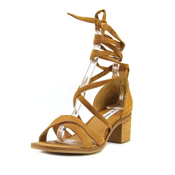 48d858c52a4 Shop Steve Madden Kanzley Women Open Toe Leather Tan Sandals - Free ...