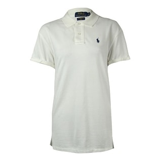 Polo Ralph Lauren Women's Small Pony Pique Boyfriend Polo