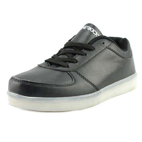 Hoverkick Nova Men Leather Black Fashion Sneakers