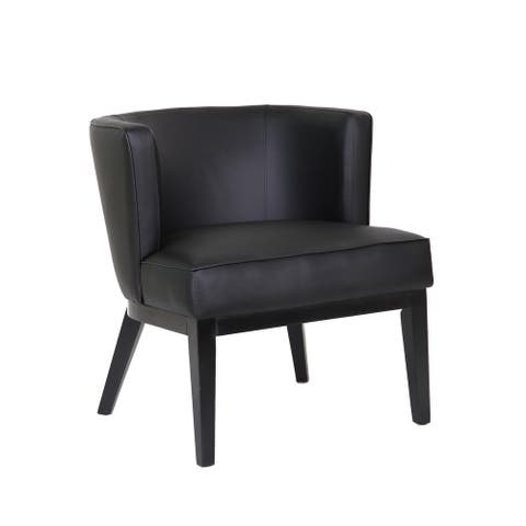 Boss Office Products Ava Black Accent Chair