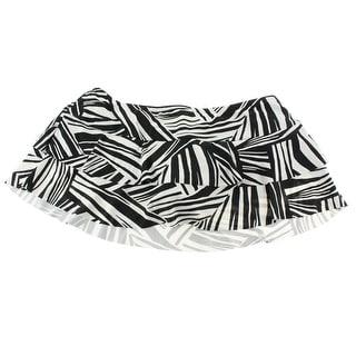 Sunsets Womens Tiered Skirt Pattern Swim Bottom Separates - L